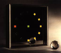 Omichron Clock by ChronoArt, 1990