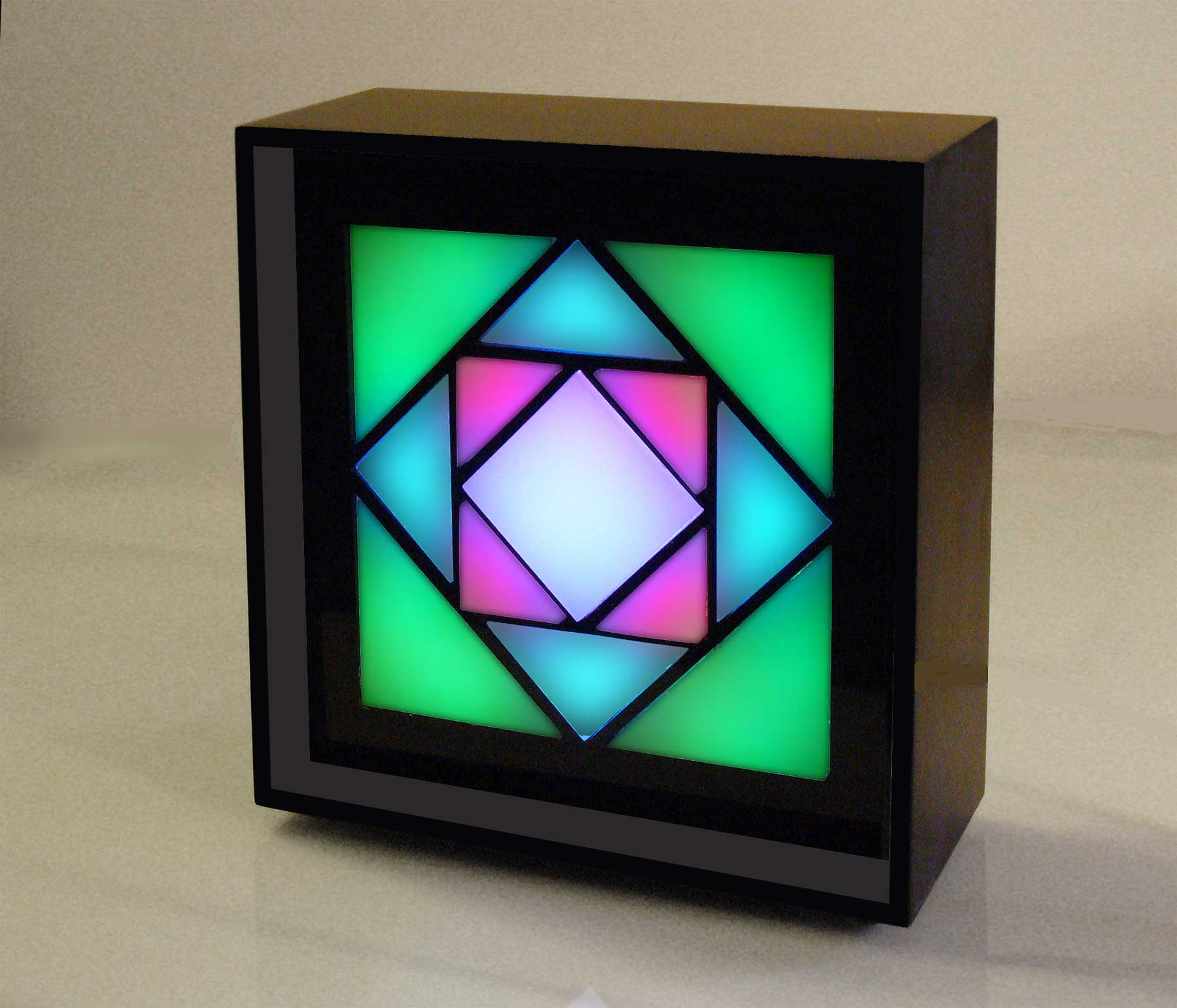 Kaleidoscope Binary clock by ChronoArt