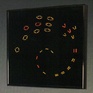Vortex Art Wall clock by ChronoArt, 1990